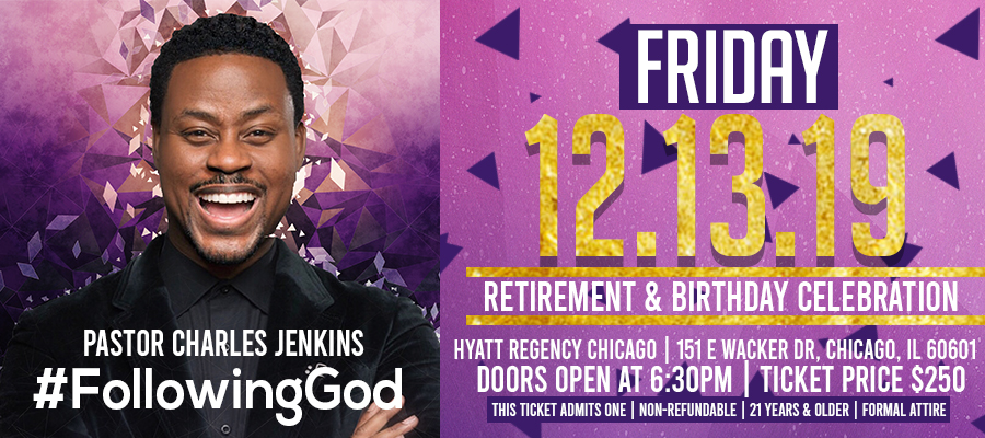 Pastor Charles Jenkins Retirement and Birthday Celebration